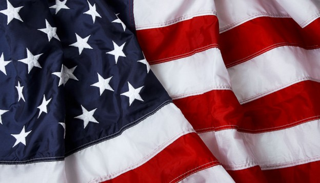 USA flag and the AHRQ