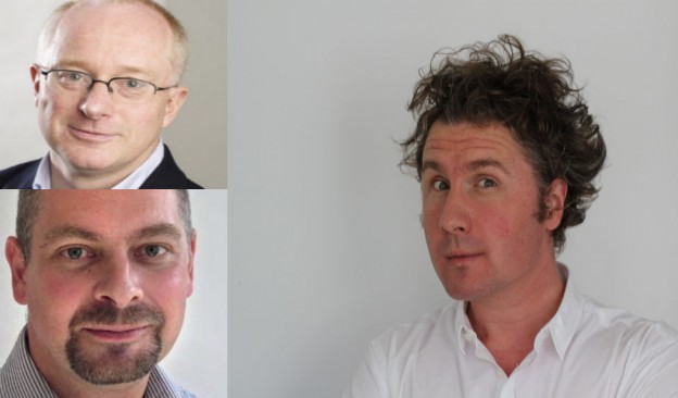 David Tovey, Mark Wilson & Ben Goldacre- Cochrane Collaboration speakers