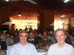 Professor Clive Adams and Dr. Adib Essali