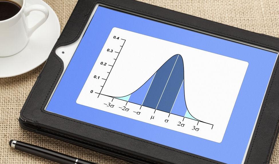 summarising data with a standard deviation chart