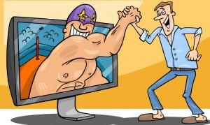 interactive gaming cartoon