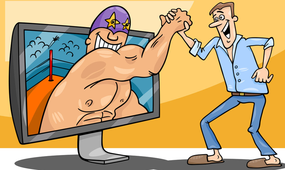 interactive gaming cartoon