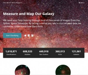 Milky Way - Zooniverse