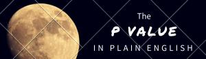 p-value in plain English