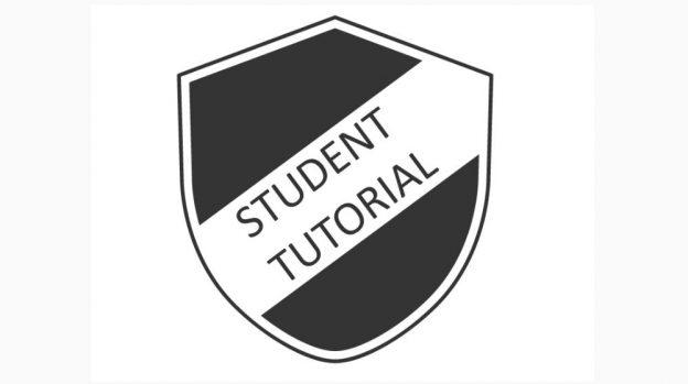 Student Tutorial badget