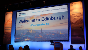 "photo of a slide saying ""Welcome to Edinburgh"""