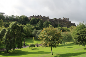 Picture of Princes Street Garden, Edinburgh