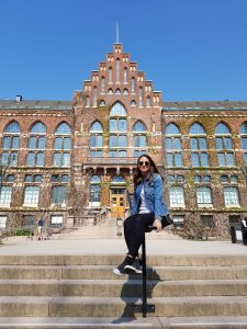 Chiara Nava outside of Lund University
